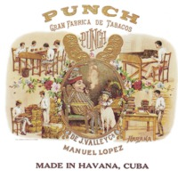 Punch - Manuel Lopez - Made in Havanna - Cuba