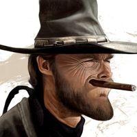 Clint Eastwood karikatúrák