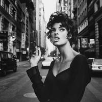 Linda Evangelista egy picit Meztelen és egy picit Dohányzik