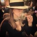 Luisa Bautista - Cigar Lover