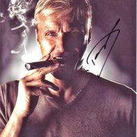 Filmsztárok akik szivaroznak - Dolph Lundgren