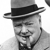 Sir Winston Churchill a szivaros legenda