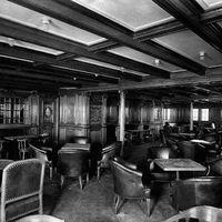 A Titanic másodosztályának szivarszalonja