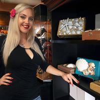 Kagyló díszítésű humidorok  - Jennifer Nichole