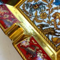 Hermes porcelán szivar hamutartók