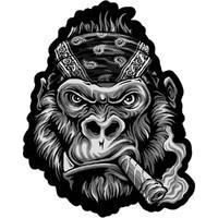 Szivarozó gorillák 3