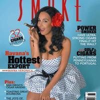 Mayra Verónica - A Smoke Magazin Címlaján