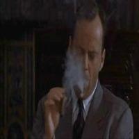 Bruce Willis - Szivarozás