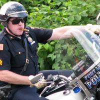 Szivarozó amerikai motoros rendőrök