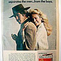 Retro szivaros plakátok az '50-es '60-as évekből