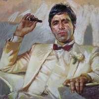 Al Pacino mint Tony Montana a Sebhelyesarcúban