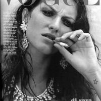Gisele Bündchen szupermodell dohányzik