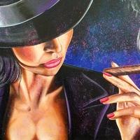 A szivarozás ábrázolása a művészetekben