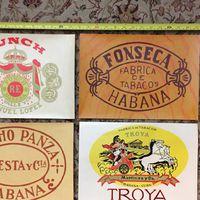 Vintage - Régi Kubai Szivaros Litográfiák