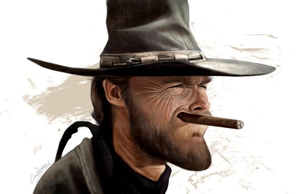 funny-caricatures-celebrity-caricatures-clint_eastwood_cigarmonkeys_1.jpg