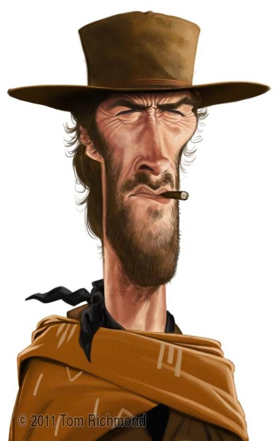 funny-caricatures-celebrity-caricatures-clint_eastwood_cigarmonkeys_2.jpg