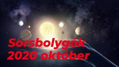 A sorsbolygók beindulnak- 2020. október
