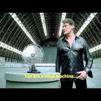 David Hasselhoff ujját levágta egy ventilátor