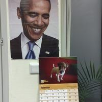 Obama Elnök Úr is nagyon örül, hogy megjelent a Szünyőnaptár!