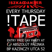 !TAPE every Thursday night lesbi&gay party in the heart of Budapest