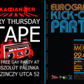 This week 2 gay parties in Budapest