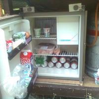 Hűtőszekrény gázpalackról