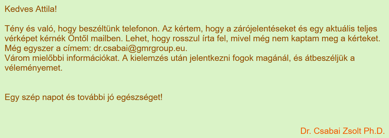 6. Csabai Zsolt válaszai betegeknek a vitaminsziget.com oldalon (forrás: <a href='https://www.vitaminsziget.com/kerdes.php?start=880&r=2'>Internet Archive</a>)
