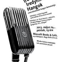 Iredynski kötetbemutató a Massolitban