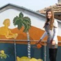 Szvetlana Georgieva festőművésznő kiállítása a Bolgár Kulturális Intézetben