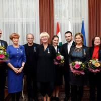 Lengyel állami kitüntetéseket adtak át Budapesten