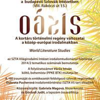 Oáza/Oázis-est a Szlovák Intézetben
