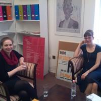 Könyvfesztivál előtti interjúnk a Cseh Centrum munkatársaival