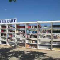 Könyvtár a dojrani strandon