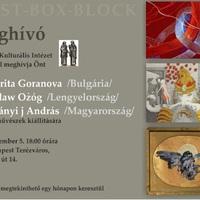 Kiállításmegnyitó a Bolgár Intézetben!
