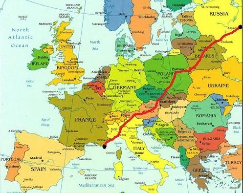 nizza térkép Orosz expressz indul a Francia Riviérára   Szláv Virtus nizza térkép