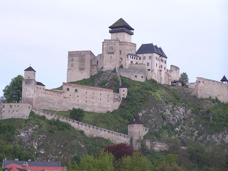 7dbcc4fbc3 Trencsén vára - sok más felvidéki várhoz hasonlóan - a Csák család  birtokában is volt