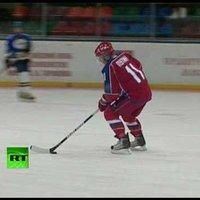 Putyin a jégen
