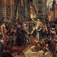 Európa legöregebb alkotmányát ünneplik a lengyelek