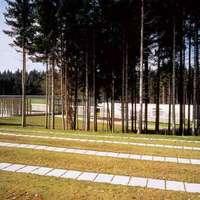 Srebrnice, temető