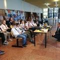 A hatodik évfolyam a Goethe Intézet konferenciáján
