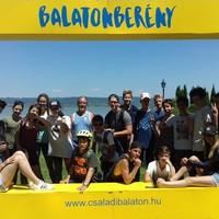 Biciklis tábor 2017, Balaton