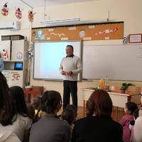 Farkas Bertalan az iskolában