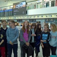 Tanulmányi kirándulás 2017, Írország, első nap