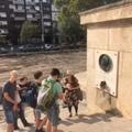 A középkori és reformkori Pest emlékhelyein a nyolcadikosok