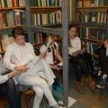Könyvtári foglalkozás a FSZEK Török utcai fiókkönyvtárában