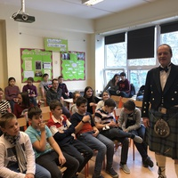 Burns Day with Mr Mark Paterson