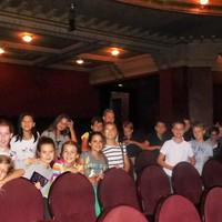 Moziban az ötödikesek