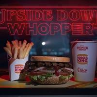 Stranger Things - Burger King Whopper