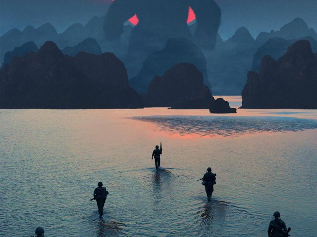 Kong: Koponya-sziget / Skull Island plakátok