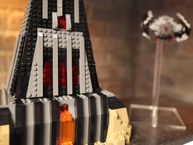 Darth Vader LEGO Kastélya